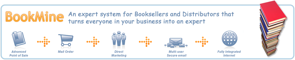 Bookmine from InfoMining - Book shop and distributor managment software